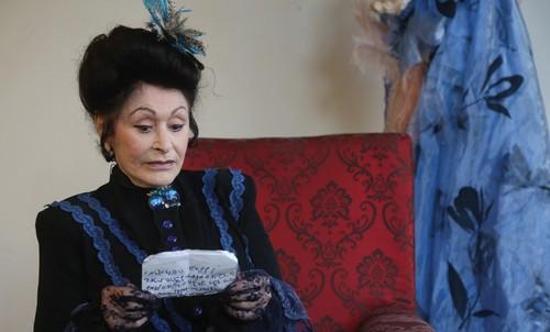 AN ACTRESS portrays Julie Naschauer