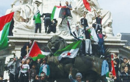 anti israel paris