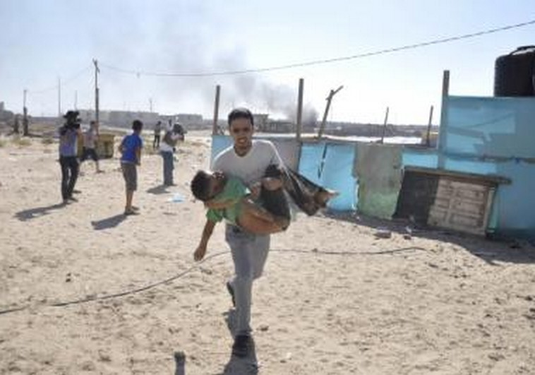 children killed on Gaza beach