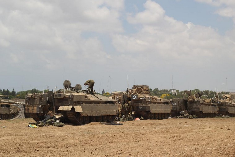 Gaza border, July 18