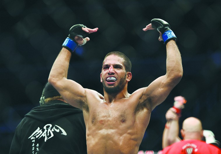Noad Lahat impressed in his UFC featherweight bout against Steven Siler on Saturday in San Jose