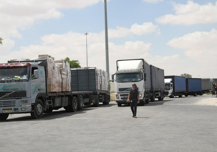 Volume of goods entering Gaza to double this year