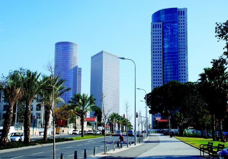 Tours Azrieli à Tel-Aviv