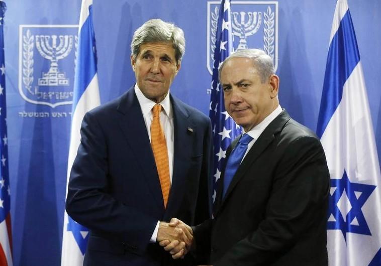 Kerry Netanyahu upset