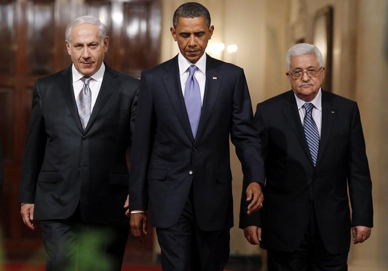 Netanyahu, Obama and Abu-Mazen