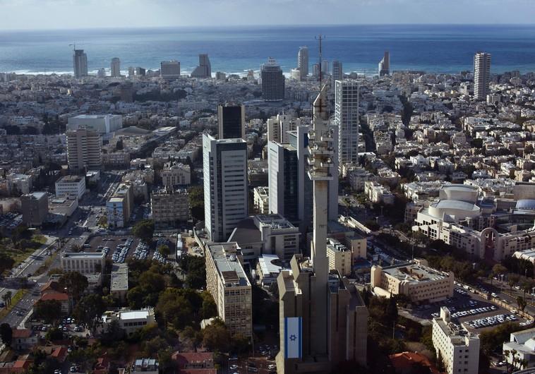 General view of Tel Aviv