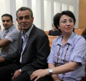 Haneen Zoabi and Jamal Zahalka