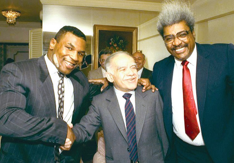 Mike Tyson Yitzhak Shamir and Don King