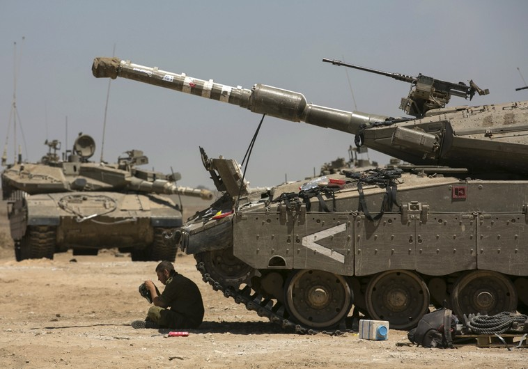 IDF in Gaza strip