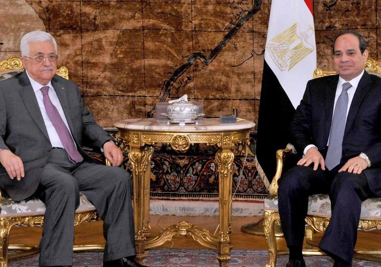PA President Abbas and Egyptian President Abdel Fattah al-Sisi