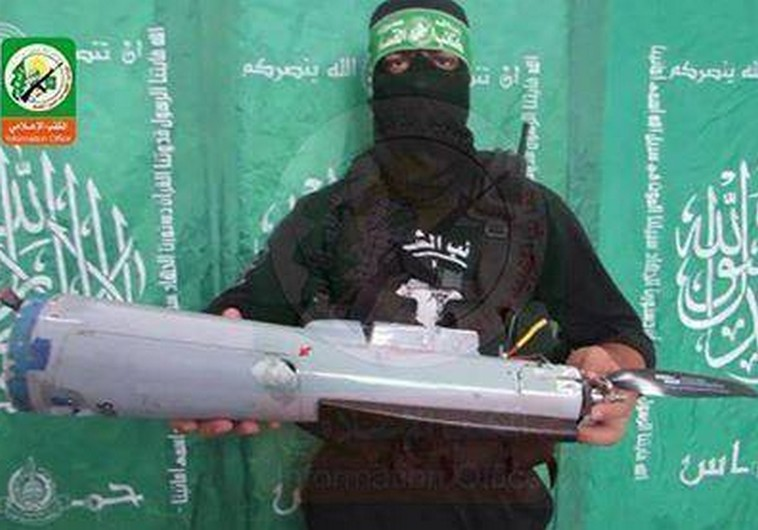 Israeli drone allegedly captured by Hamas