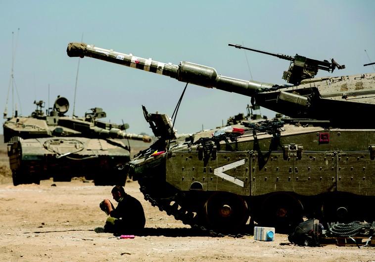 Près de la bande de Gaza