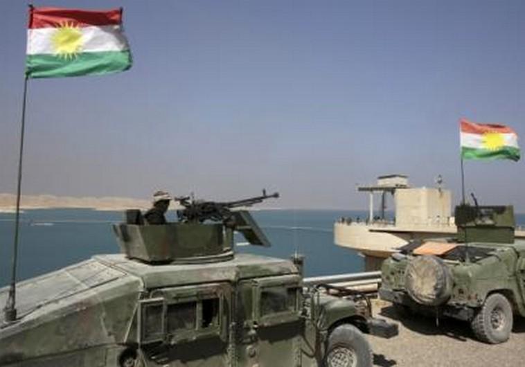 Kuridsh Peshmerga fighters
