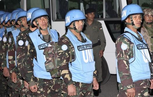 UNDOF peacekeepers