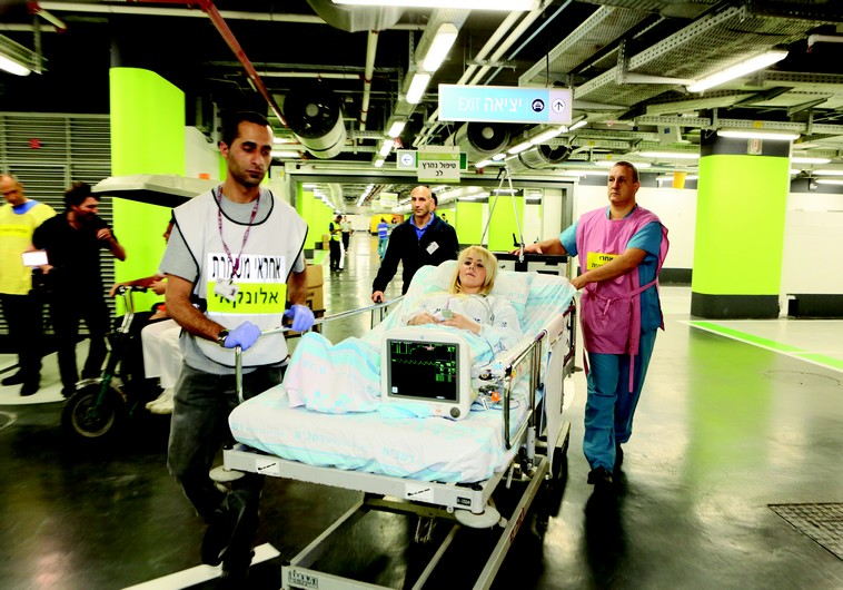 De parking en hôpital d'urgence: la métamorphose