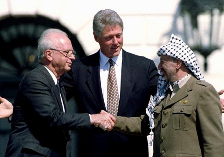 Rabin, Clinton, and Arafat
