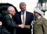 Rabin, Clinton, and Arafat