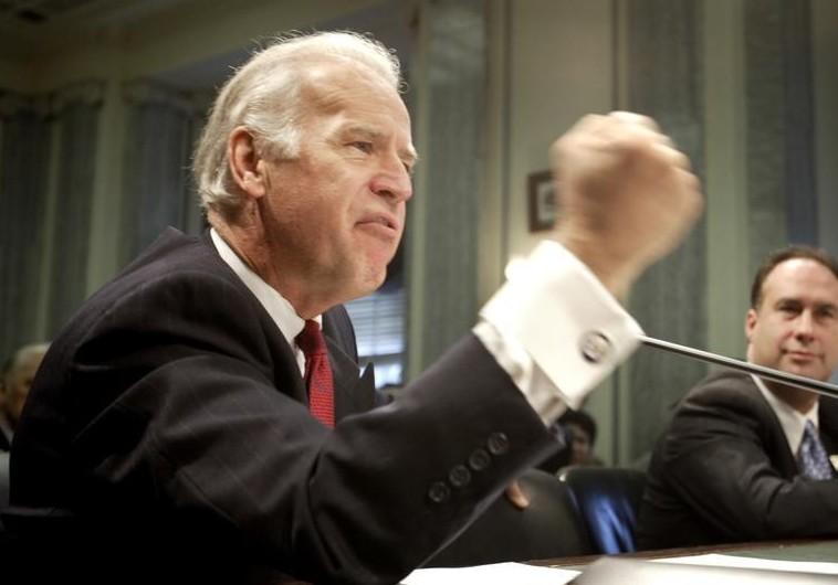 Joe Biden In Israel >> Biden apologizes for using anti-Semitic term following chiding by ADL - Diaspora - Jerusalem Post