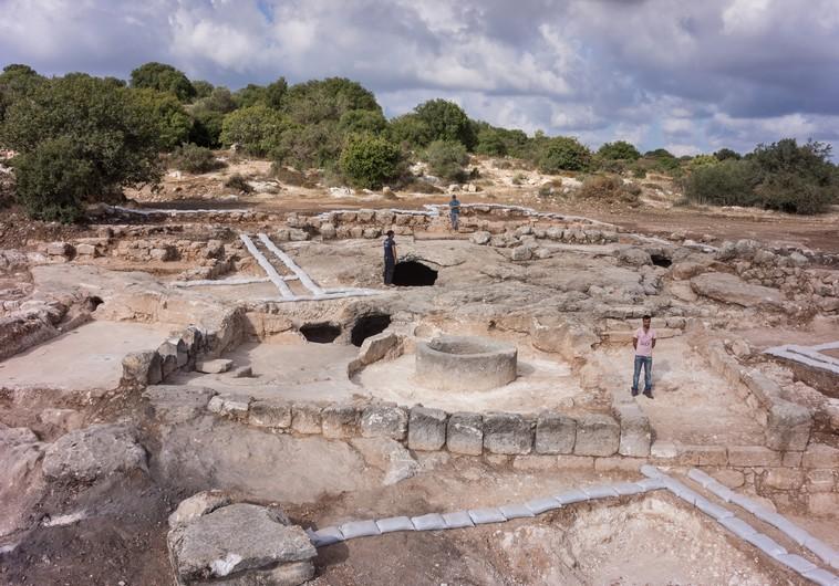 Archaeological dig near Beit Shemesh