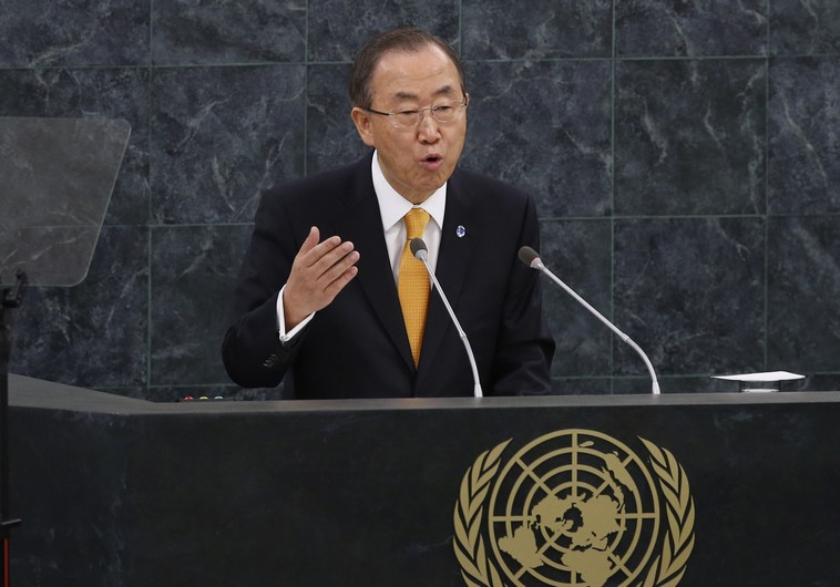 UN chief Ban: Israeli occupation led to Gaza war