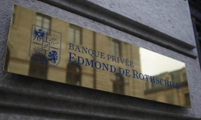 A logo of Banque Privee Edmond de Rothschild