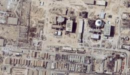 Satellite images of Iranian nuclear facility (file)