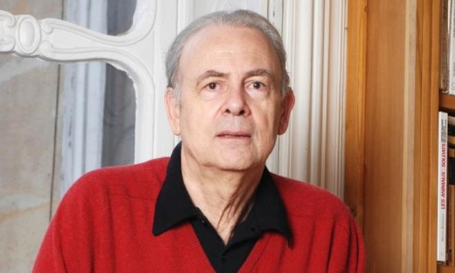 Winner of 2014 Nobel Literature Prize, French writer Patrick Modiano