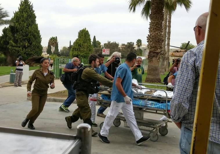 Injured soldier