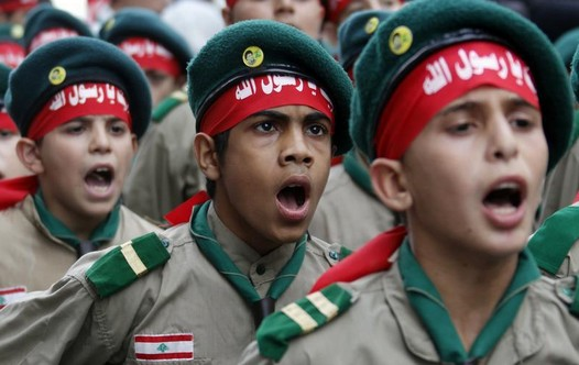 Hezbollah Mahdi boys scouts