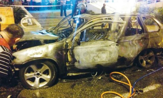 Car explodes in Ashdod