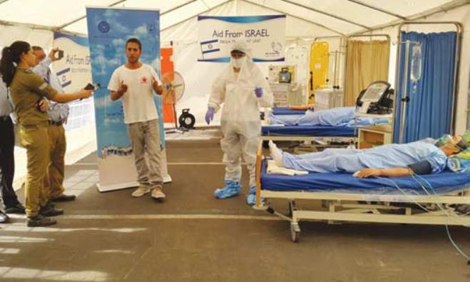 Ebola, help from Israel