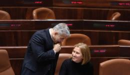 Yair Lapid and Tzipi Livni