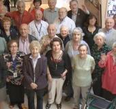 SURVIVORS GATHER at the Jewish Holocaust Center in MelbourneRABBI PINCHAS ZEKRY