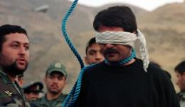 Iranian Judiciary officials prepare to hang convicted murderer Hashem