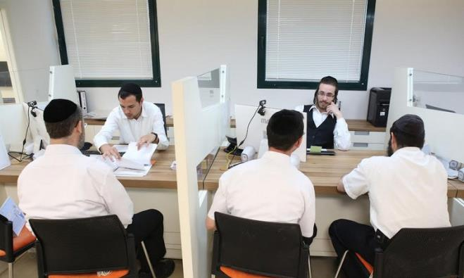 Employment fair in Jerusalem for  men and women from the haredi sector,