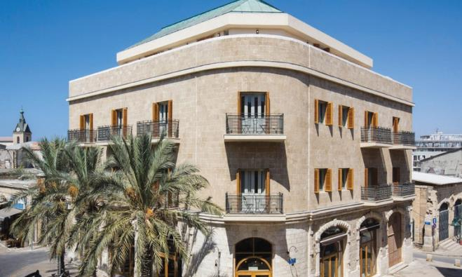 The Market House boutique hotel in Jaffa