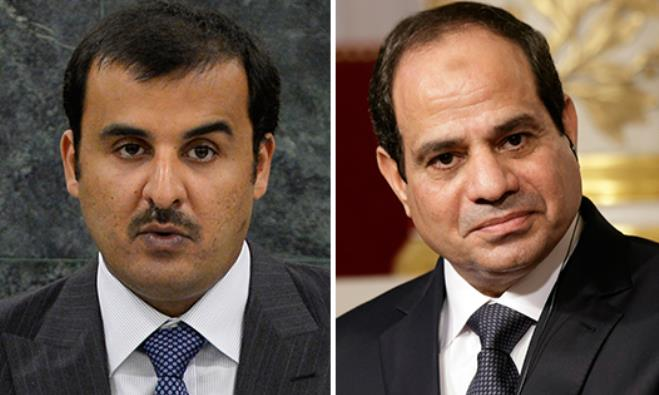 Al-Thani and Al-Sisi