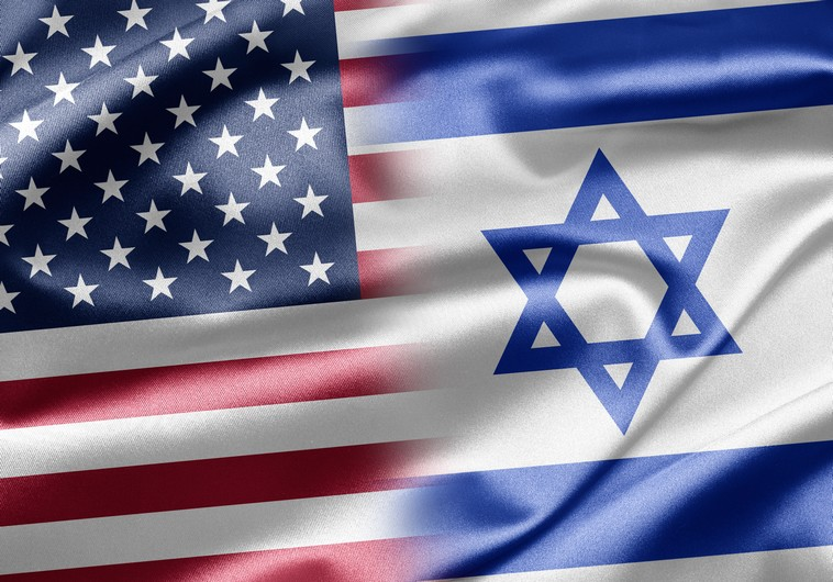 Israel and US flags