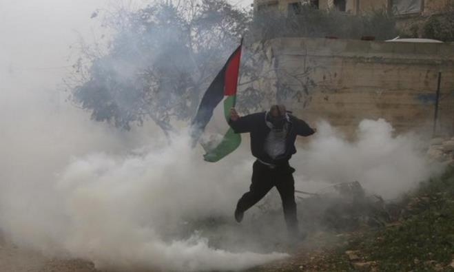 Palestinian protests in West Bank
