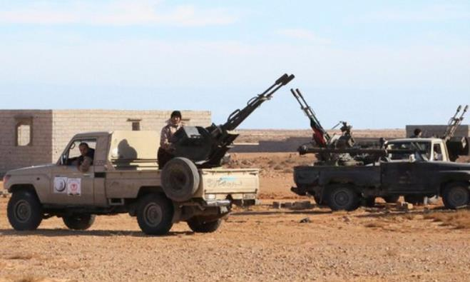 Libyan Army Forces.