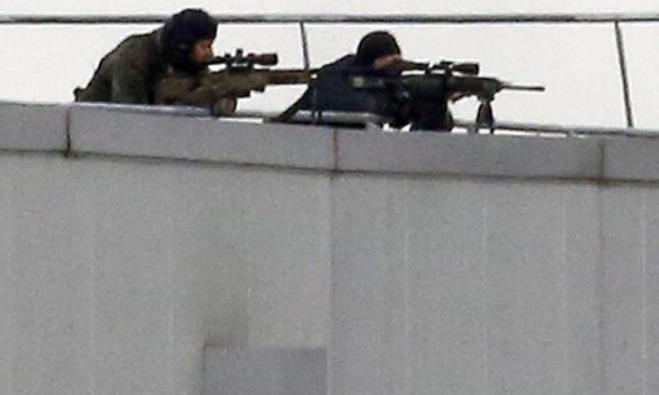 French police in hostage standoff in Paris