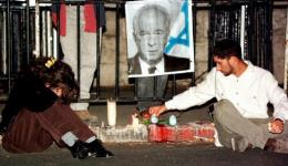 Israelis mourn the assassiniation of Prime Minister Yitzhak Rabin