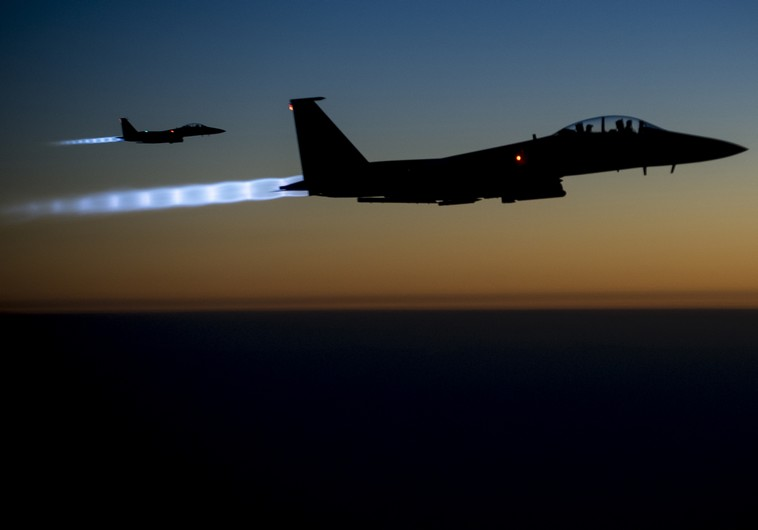 US jets to begin striking Syrian forces if they target pro-US rebels