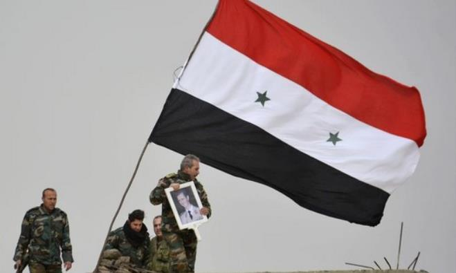 A fighter loyal to Syria
