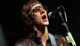 British singer Richard Ashcroft of the rock bank The Verve