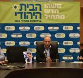 Bayit Yehudi holds memorial faction meeting for Uri Orbach.