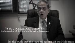 Israeli Embassador in Berlin reads hate letters