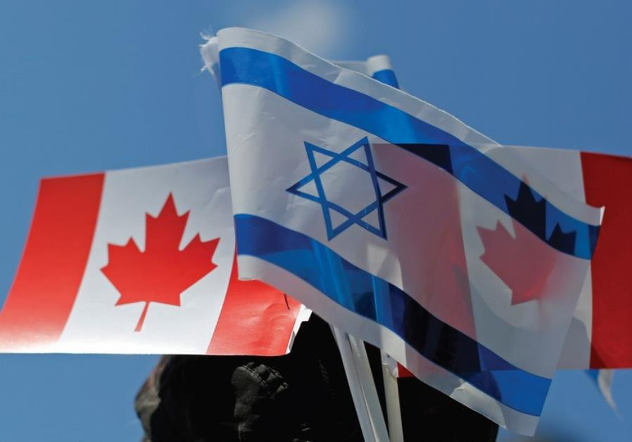how to call israel from canada