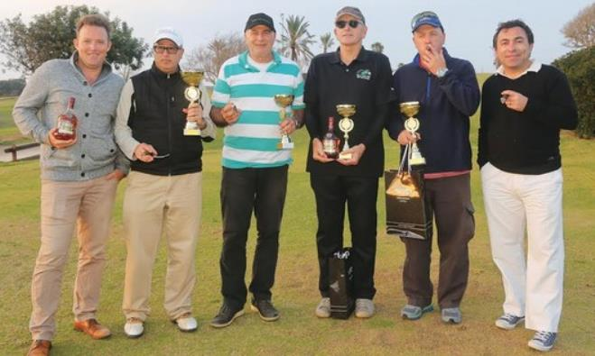 Ga'ash golf club players