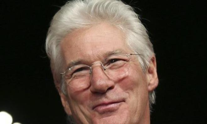 Richard Gere arrives for a premier